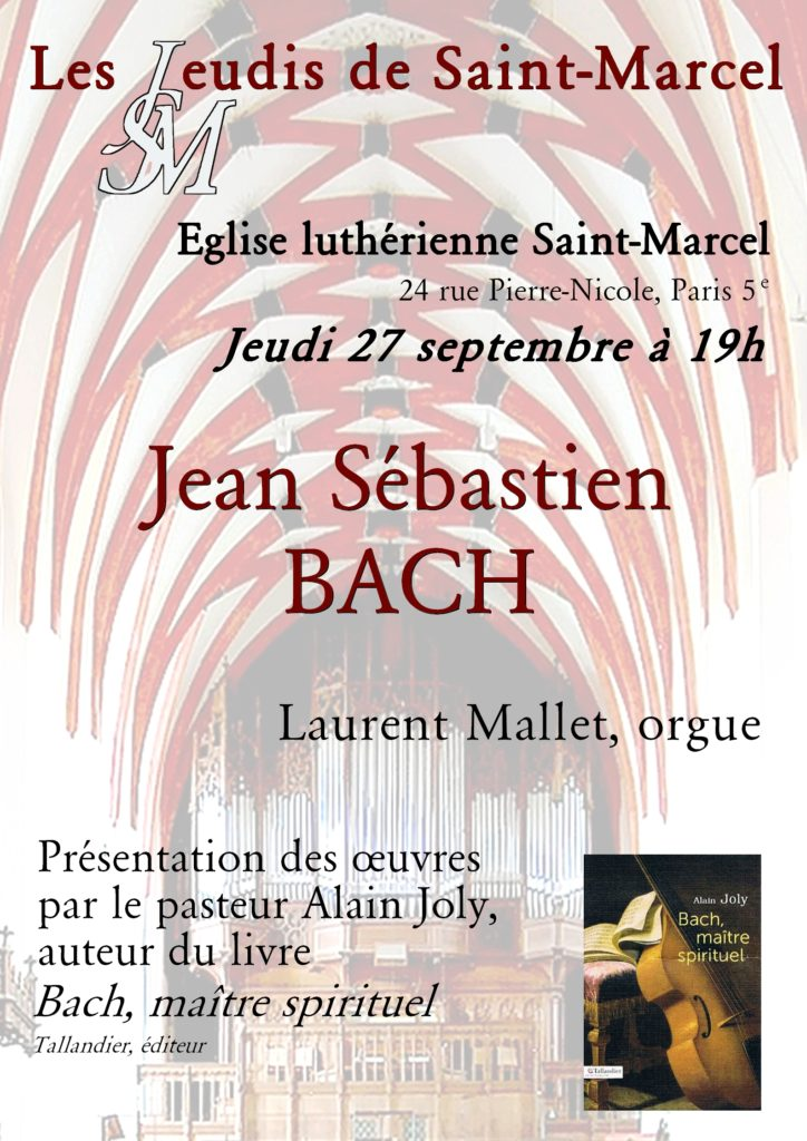 MP 27 septembre 2018 Bach