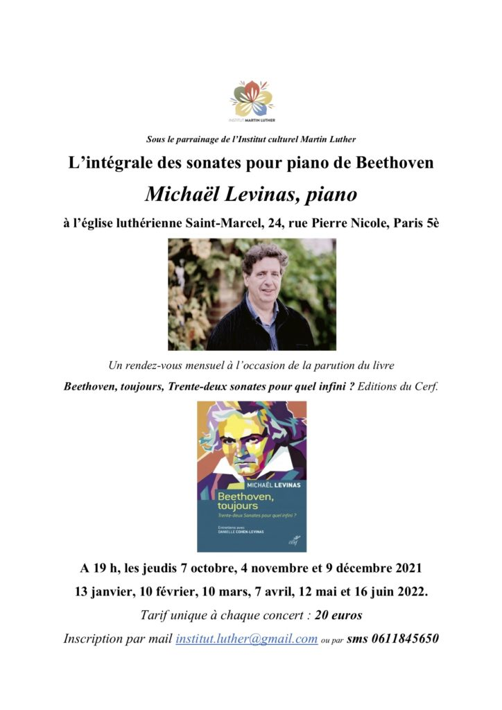 Beethoven - Levinas Intégrale 2021-2022